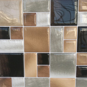 Pastilha Adesiva Resinada Pedras Kit 4 Placas