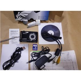 Câmera Digital Mitsuca 8mp Dm8393br + 4gb Completa