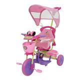 Triciclo Infantil Disney Minnie Rosa Xg-8001