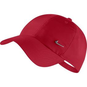 4cfcc5e0839c6 Bone Nike Metal Swoosh 100% Original Vermelho Coral