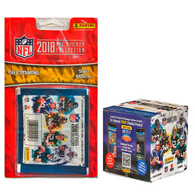 Kit Nfl 18/19 Blister + Caja Estampas Panini