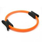 Anel Flexível Pilates Plus Círculo Mágico Laranja Live Up