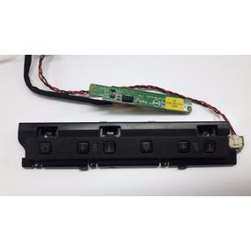 Teclado Funções +sensor Ir Tv Philips 42pfl4007g/78