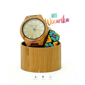 Reloj Wood Wixarika