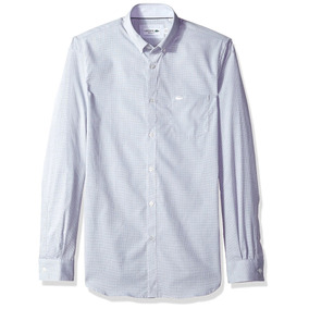 6f4fdb0d35b7a Camisas Lacoste Manga Larga Y - Camisas de Hombre en Mercado Libre ...