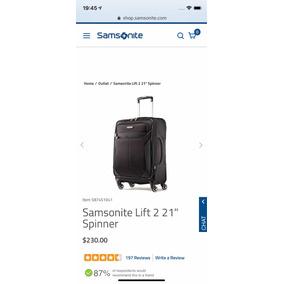 Samsonite Lift 2 Spinner Carry On. 1 Uso