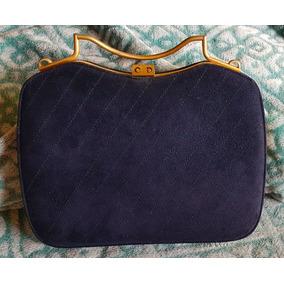 cdc63981fca Usado - São Paulo · Bolsa Antiga Vintage Cristian Dior Original Camurça Azul
