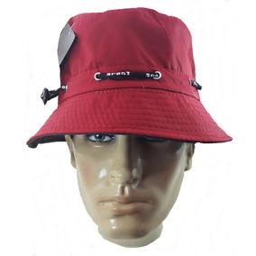 de2e9f21a2a30 Chapéu Bucket Hat Com Forro Regulador E Respiradores Top