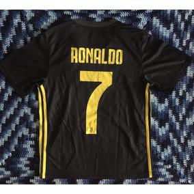 8266185d3 Asombroso Jersey Turin 2019 Niño Visita Negro Ronaldo 7 Cr7