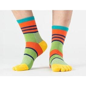 Calcetines Con Dedos De Colores