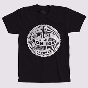 4463d9d9d Camiseta Bon Jovi Forever - Camisetas Manga Curta no Mercado Livre ...