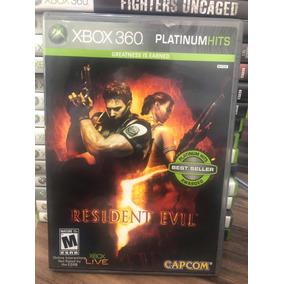 Jogo Resident Evil 5 Xbox 360 Semi Novo Original