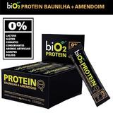 Bio2 Protein 24 Barras Baunilha Amendoim Suplemento