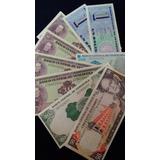 Excelente Set 9 Billetes Venezolanos Antiguos . Sin Circular