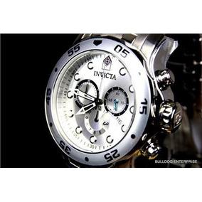 Invicta Pro Diver Scuba 071 Prata Escovado Original C/estojo