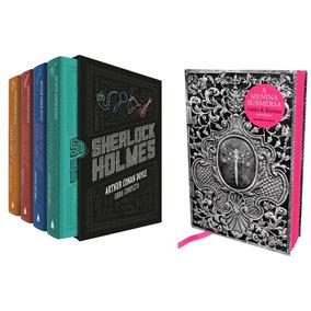Box Livro Sherlock Holmes Obra Completa + A Menina Submersa