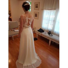 3a500dcb9 Vestido Blanco Largo Sencillo - Vestidos de Mujer en Mercado Libre ...