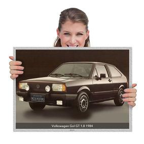 Presente Dia Dos Pais Carros Nacionais Volks. Gol Gt84 (tam.