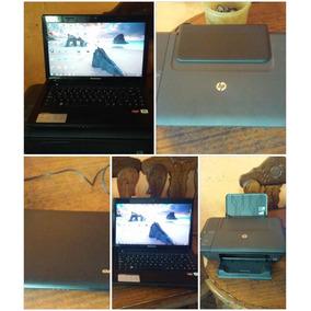 Laptop Lenovo Con Impesora Hp