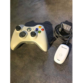 Controle Microsoft Xbox 360 Adptador Usb Pc Original