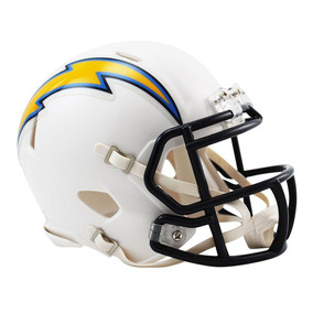 Capacete Riddell Los Angeles Chargers Miniatura Revolution
