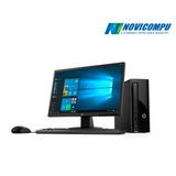 Cpu Hp Slim 1tb+ 4gb+ Dvdwr+ W10+ Monitor De 22 Pulgadas