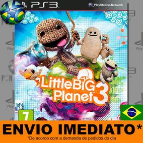 Little Big Planet 3 Ps3 - Envio Agora Midia Digital Play3