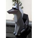 Lobo 6 Papercraft Pepakura Origami Papiroflexia Armar