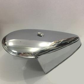 Capa Metal Aço Cromada Pisca Dianteiro Fusca Unitário