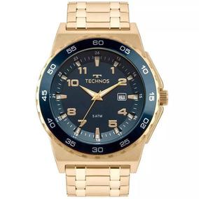Relógio Technos Masculino Racer Dourado 2115mql/4a