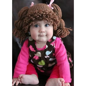 2 Piezas De Gorro Cabbage Patch A Crochet