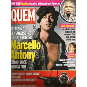 Revista Quem 292/2006 - Angélica/marcello Antony/luana
