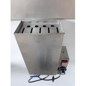 Esterilizador Para 5 Facas 4 Chairas Inox 304 Eletrico 220v