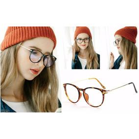 0b17149f4d Lentes Gafas Armazón Para Graduar De Pasta Hipster Unisex