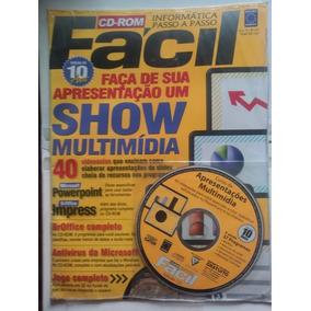 Revista Cd-rom Fácil Faça Apresentação Show De Multimídia121