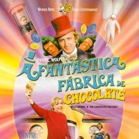 A Fantástica Fábrica De Chocolate Dvd 1971 Dublado