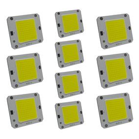Chip Led 20w Para Reposição De Refletor Branco Frio Kit 10