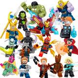 Set Tipo Lego Vengadores / Avengers 16 Figuras Infinity War