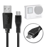 Cable Usb Cargador Transferencia Datos Gopro Hero 4, 3+, 3