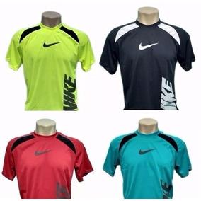decc930ec Kit Com 5 Camisa Camiseta Dry Fit E 5 Shorts Academia