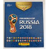 Álbum Figurinhas Copa 2018 (capa Dura) Completo / Atualizado