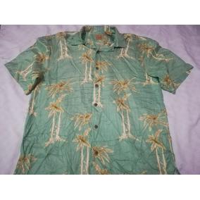 Camisa Jos. A. Bank Talla M (moda Casual,playa,hawaiiana,flo