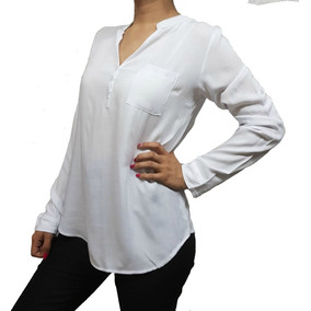 ace309fe269ba Blusa Camisola De Mujer De Fibrana Manga Larga A 3 4