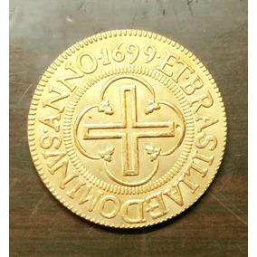 Moeda 1699 Brasil 2000 Reis