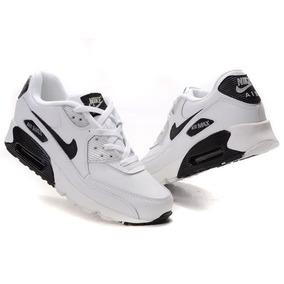 a7596f3bcfcf2 Tenis Nike Air Max 90 Brush Black Preto Original Promo O - Calçados ...