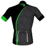 Camisa Ciclismo Sódbike Square Verde