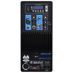 Caixa Acústica Ativa 12 Oneal 200wrms Bivolt - Opb 1112bt