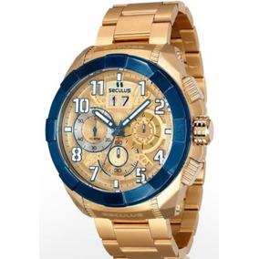 Relógio Masculino Analógico Seculus Upper 13009gpsvla2
