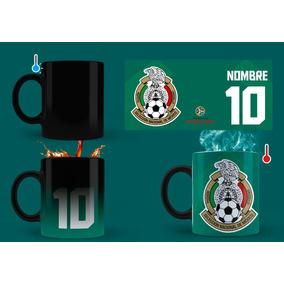0739bcedca06e Taza Mágica Selección Mexicana Mundial Rusia Personalizada