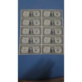 Notas De 1 Dollar Ano 1935 Novas Sequenciais ( Total Sao 10)